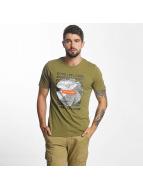 Jack & Jones t-shirt jcoTreble olijfgroen