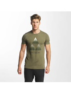 Jack & Jones T-Shirt jcoLenz olive