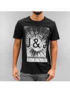 Jack & Jones T-Shirt jcoBiard schwarz