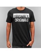 Jack & Jones T-Shirt Jorsedret schwarz