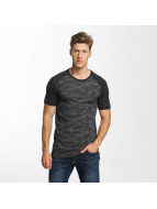 Jack & Jones T-Shirt jcoCamo Replica schwarz