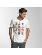 Jack & Jones t-shirt jcoHatti wit