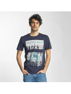 Jack & Jones T-shirtar jcoMoin blå