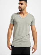Jack & Jones T-shirtar Core Basic V-Neck grå