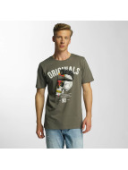 Jack & Jones T-Shirts jjorFaster yeşil