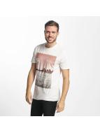 Jack & Jones jjorPreen T-Shirt Cloud Dancer Red Print