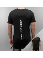 Jack & Jones T-Shirty jcoMandate czarny