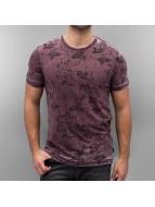 Jack & Jones T-Shirty jjorDany czerwony