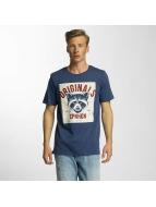 Jack & Jones T-Shirty jjorFaster niebieski