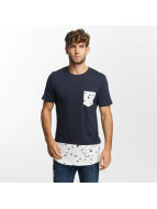 Jack & Jones T-Shirty jjorMarvin niebieski