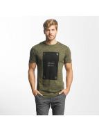 Jack & Jones T-Shirty jcoPop oliwkowy