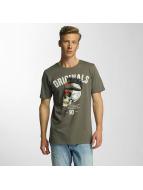 Jack & Jones T-Shirty jjorFaster zielony