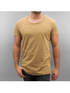 Jack & Jones T-skjorter jorBas beige