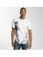 Jack & Jones T-skjorter jorMalibu hvit