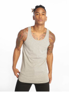 Jack & Jones Tank Tops Basic šedá