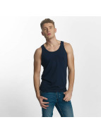 Jack & Jones Tank Tops Basic modrý