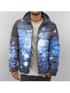 Jack & Jones Winterjacke Space Puffer blau