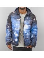 Jack & Jones winterjas Space Puffer blauw