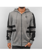 Jack & Jones Zip Hoodie Block grau