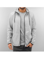Jack & Jones Zip Hoodie jjcoBasic Sweat grau