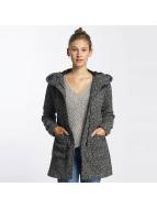 JACQUELINE de YONG Демисезонная куртка jdyOlivia Oversize Wool черный