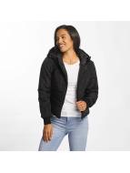 JACQUELINE de YONG Зимняя куртка jdyRocca Cropped Hoody черный
