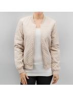 JACQUELINE de YONG Bomber jacket jdyAshly beige