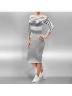 JACQUELINE de YONG Kleid jdyStripy weiß