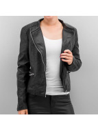 JACQUELINE de YONG Leather Jacket JDYAnika black