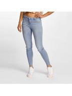 JACQUELINE de YONG Skinny Jeans jdySkinny Reg Ulle blau