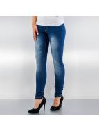 JACQUELINE de YONG Skinny Jeans JdyGarcia niebieski
