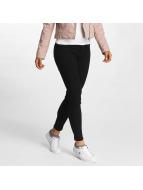 JACQUELINE de YONG Skinny Jeans jdyThunder Zip Ankle schwarz
