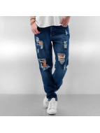 JACQUELINE de YONG Straight fit jeans JdyVanessa Girlfriend blauw