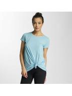 JACQUELINE de YONG T-Shirt jdyNoho Knot blau
