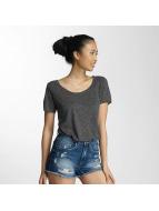 JACQUELINE de YONG T-Shirt jdyLinette gray
