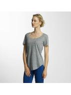 JACQUELINE de YONG T-Shirt jdyLinette grey