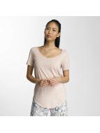 JACQUELINE de YONG T-shirt jdyLinette rosa chiaro