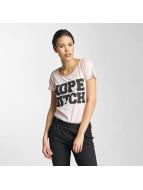 JACQUELINE de YONG T-shirt jdyGlow rosa chiaro