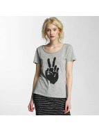 JACQUELINE de YONG T-Shirts jdyGlow Print gri