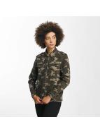 JACQUELINE de YONG Veste mi-saison légère jdyFive camouflage