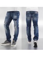 Japan Rags Облегающие джинсы 1800 Basic синий