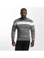 John H Пуловер Knit серый