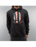Joker Hoody Serape Clown schwarz