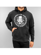 Joker Hoody Circle Clown schwarz