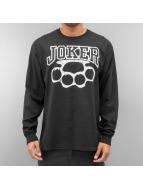 Joker Longsleeve Knuckles zwart