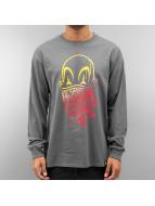 Joker Pitkähihaiset paidat Clown Brand harmaa