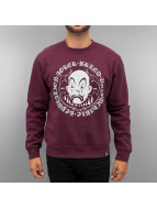 Joker Pullover Circle Clown rouge