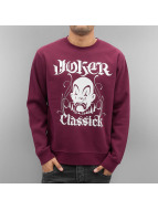 Joker Pullover Classick Clown rouge