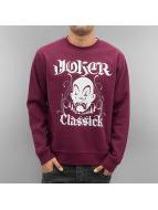 Joker Pullover Classick Clown rouge