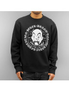 Joker Pullover Circle Clown schwarz